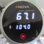 真空調理器のanovaの使い方 アプリのセットアップを忘れずにしておきましょう!