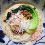 素麺のアレンジレシピ 豆乳とラー油を使って冷し担々麺風