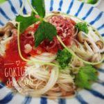 素麺をトマトを使って人気の和風アレンジに 【レシピ】